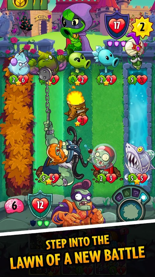 Plants Vs Zombies Heroes Apps On Google Play