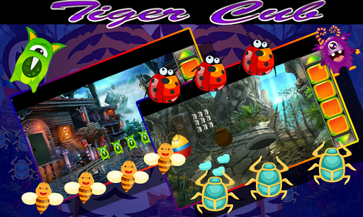 Best Game 436 If You Can Rescue - Tiger Cub Game 1.0.0 screenshots 1