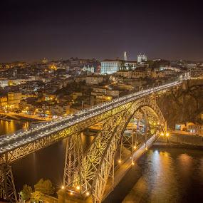 by Diogo Ferreira - City,  Street & Park  Night ( portugal, porto, , city at night, street at night, park at night, nightlife, night life, nighttime in the city )