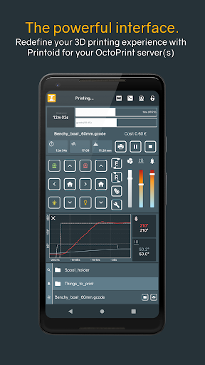 Printoid - Remote for OctoPrint [PREMIUM]  screenshots 1