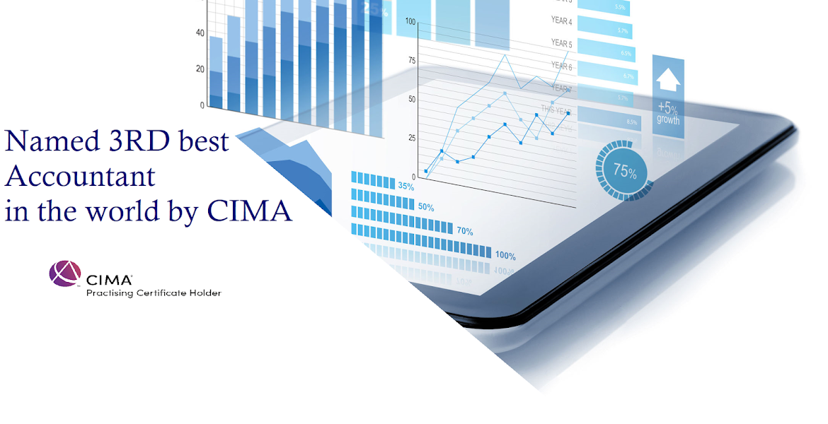 3rd Best accountant in the world CIMA