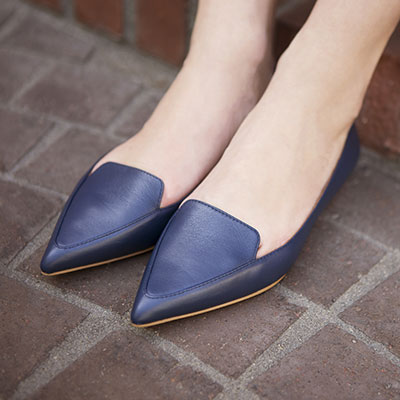 The pointed slipper