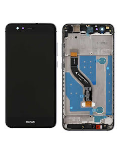 Huawei P10 Lite LCD Display with Frame Black