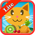 QCat Learning Games : fruit ( free ) icon