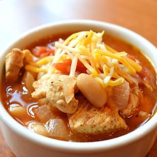 Slow Cooker Chicken Cannellini Chili