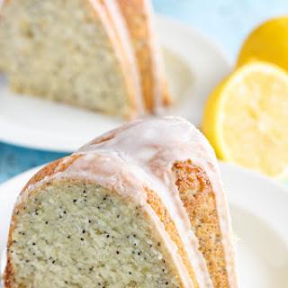 Lemon Poppy Seed Bundt Cake.