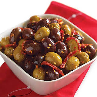 Spicy Spanish Olives.