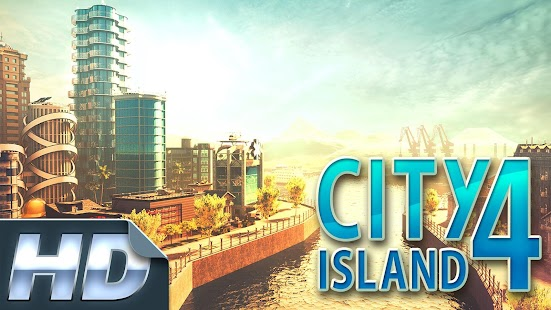 City Island 4: Magnata HD Simulation game Screenshot