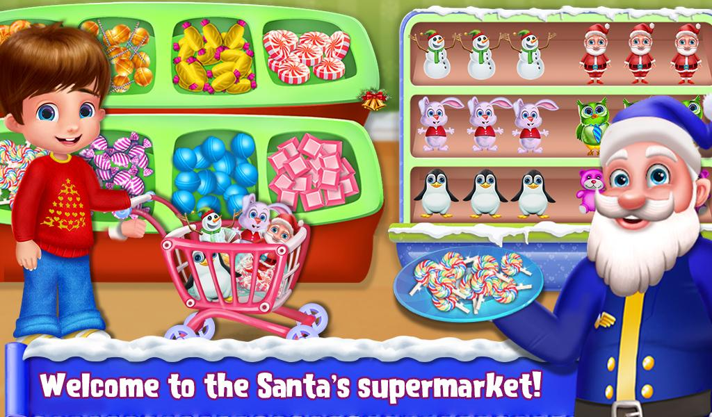 My Little Santa's Supermarket- screenshot