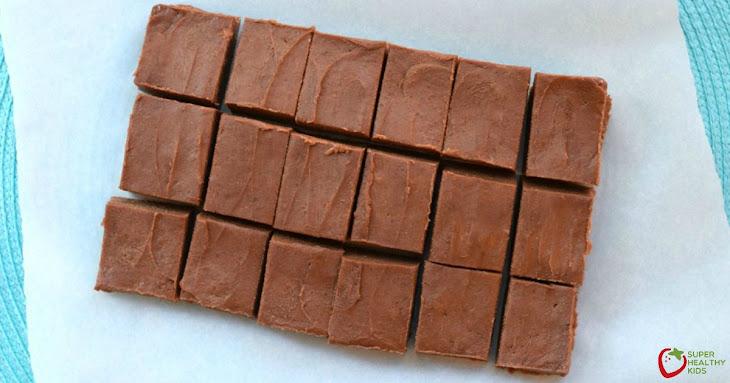 Healthy Peanut Butter Chocolate Fudge Recipe