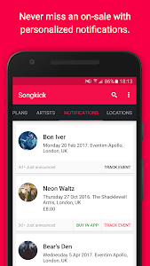 Songkick Concerts screenshot 5