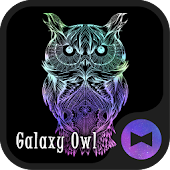 Galaxy Owl +HOME Theme