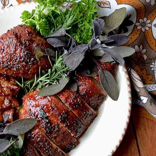 Brown Sugar Date Roast Turkey