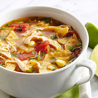Smoky Chicken Tortilla Soup