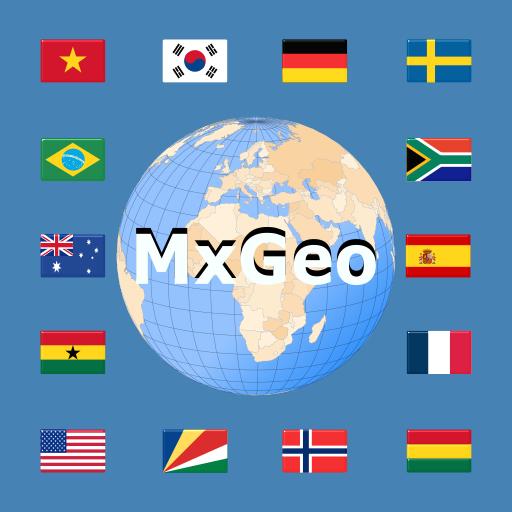 World atlas & world map MxGeo - Mga App sa Google Play