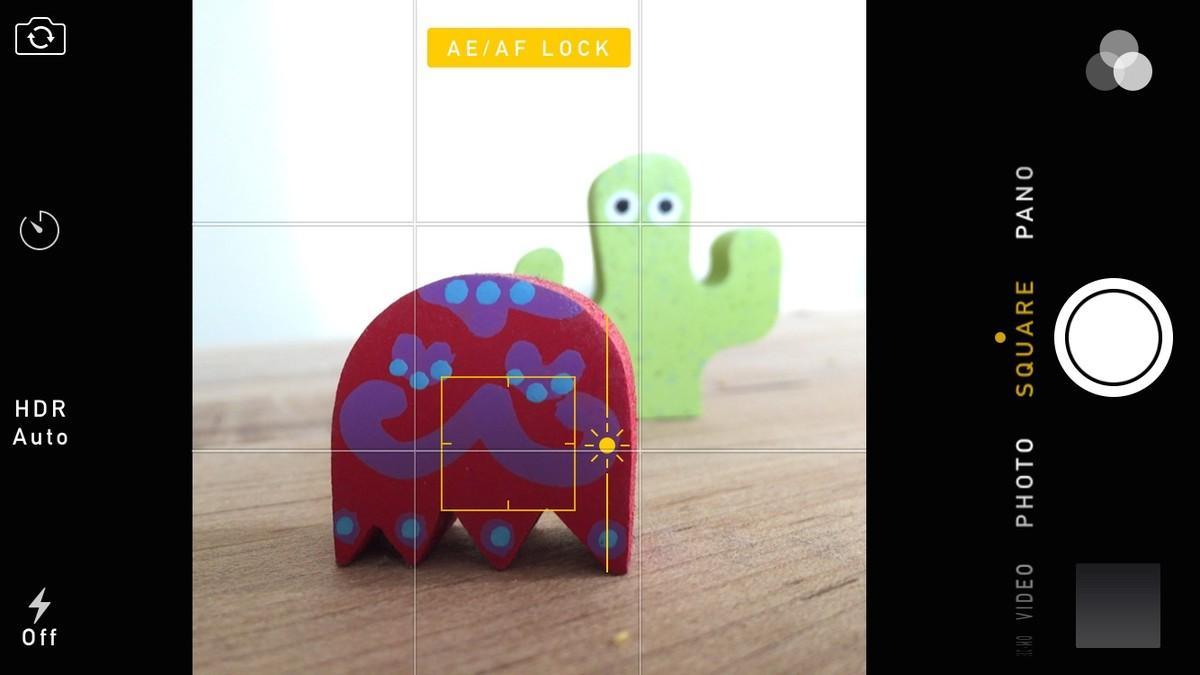 Chế độ lấy nét tự động trên iPhone