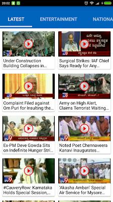 TV9  Kannada - screenshot