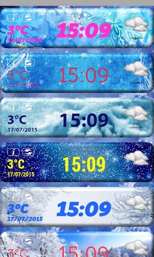 無料天气Appの雪 天気時計ウィジェット|記事Game