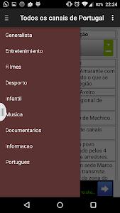 TV channels in Portugal screenshot 0