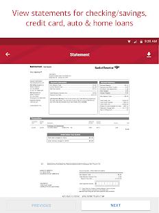 Bank of America Mobile Banking Screenshot 7