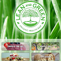 Lean and Green cafe icon