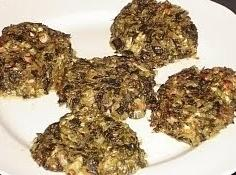 Spinach Patties Recipe