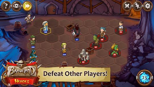 Braveland Battles Heroes MOD (Unlimited Money) 4