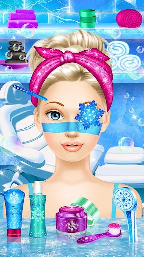 Ice Queen Makeover - Girls Makeup & Dress Up Game FREE.1.3 screenshots 12