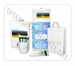 Photo: Фирменная сувенирка для компании Аматекс (продажа минеральных удобрений). Дизайн, изготовление.