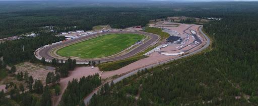Tältä tulevien Rovaniemen kuninkuusravien areena näyttää ylhäältä päin. Kuva: Petri Hietala