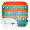 Emoji Keyboard-Orange icon