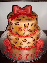 Photo: EDITOR'S CHOICE 1/26/2012  Leopard Print Cake by Cakes B & G  View cake details here: http://cakesdecor.com/cakes/5804 View all cakes by Cakesbg: http://cakesdecor.com/cakesbg/cakes
