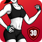 Female Fitness - Women Workout Icon