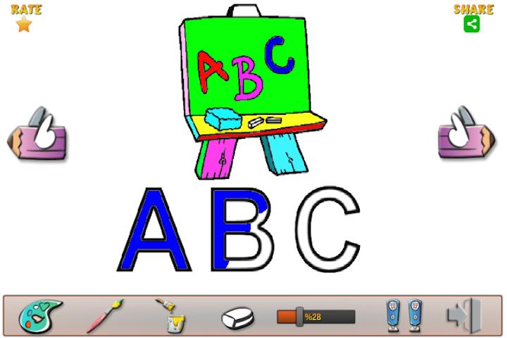 android Vocale Libro da Colorare Screenshot 1