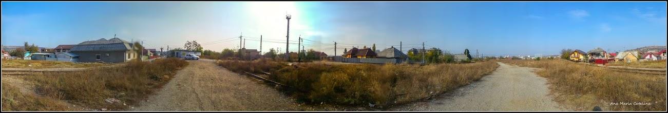 Photo: Turda - Str. Fabricii,poteca, vedere panorama 360, desfasurata - 2018.10.20