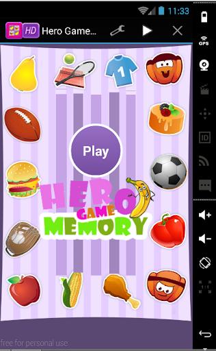 Hero game memory