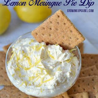 Easy 2 Ingredient Lemon Meringue Pie Dip