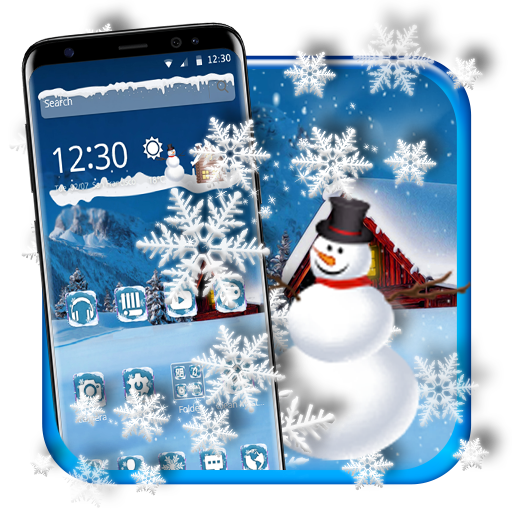 Cool Snow Flake Theme