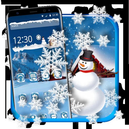 Cool Snow Flake Theme