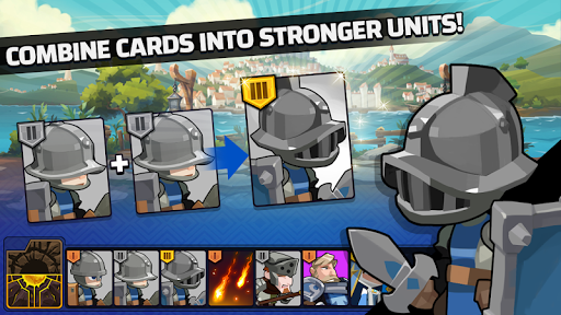 The Wonder Stone: Hero Merge Defense Clan Battle 2.0.14 APK MOD screenshots 2