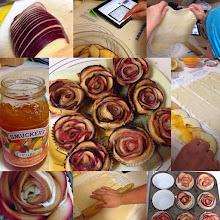 Photo: Apple Roses Pastry #intercer #pastry #sweet #yummy #apple #roses #bake #cook #tasty #food #desert #fruits #jam #apricot #dough #homemade #cuisine #roll - via Instagram, http://ift.tt/1JmPO9q
