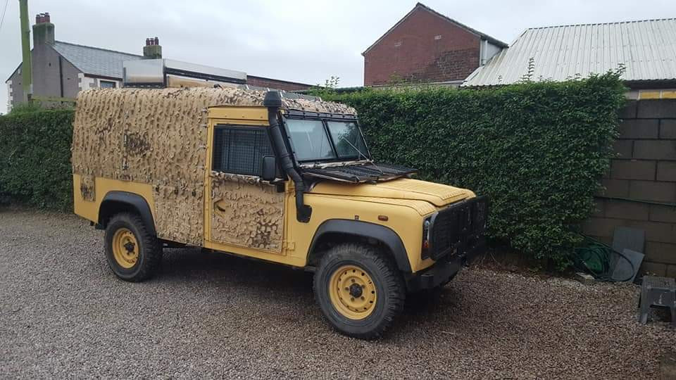 Land Rover 110 Snatch 2a Hire Preston