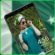 Pak Flag live clock amoled always on display apk