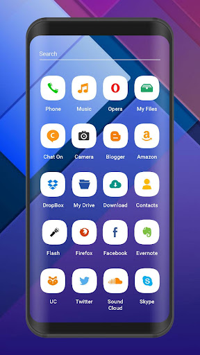 Theme For Meizu X8 : Launcher and Free Icon Packs 1.0 screenshots 2