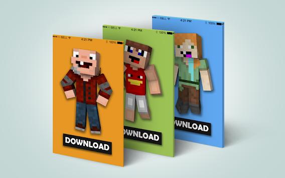 Download Noob Skins For Minecraft PE By MineMaps APK Latest Version - Descargar skins para minecraft pe noob