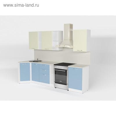 Кухонный гарнитур Алиса прайм 4 900*2000 мм