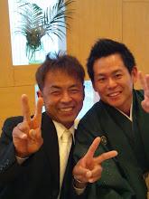 Photo: 酔わないうちに、2ショット写真! ・・・宮地さん、水泳めっちゃウマいらしいです。長崎県代表だったらしい。
