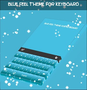 Blue Feel Theme for Keyboard - náhled