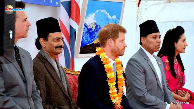 नेपाली कार्यक्रममा राजकुमार ह्यारी, उनले गोर्खा सैनिकको यसरी खुलेर प्रशंसा गरे…