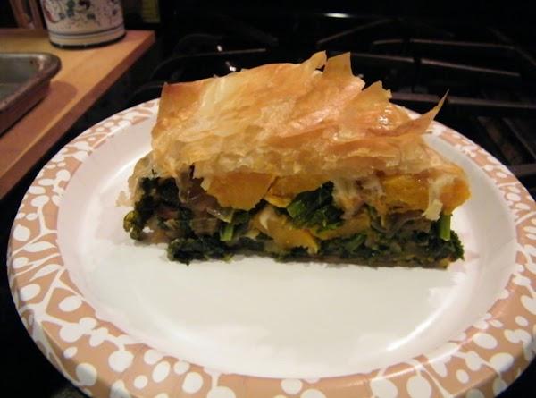 Kale And Butternut Squash Pie Recipe